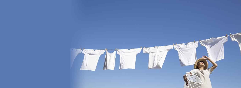 """初夏の洗濯で注意したいのは""""紫外線""""だった!"""